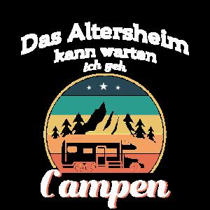 Ich geh Campen