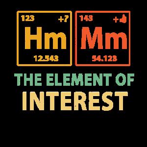 Lustiges Periodensystem der Elemente Shirt - Chemie