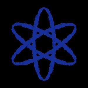 Atom Symbol wissenschaftlich Wissenschaftler