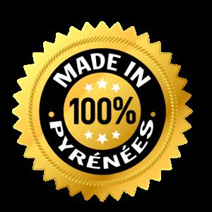 100% Pyrenäen gemacht