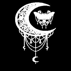 Okkulte Mondphasen Okkultismus Geschenk Motte