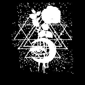 Okkulte Mondphasen Okkultismus Geschenk
