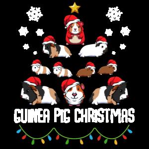 Guinea Pig Christmas Weihnachten Meerschweinchen