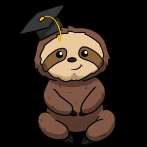 Graduation Sloth