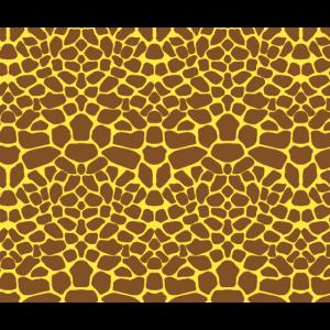Giraffen Fell Muster