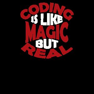 Coding ist wie Magie, aber real