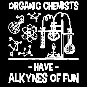 Organische Chemiker haben Alkine der Spaßchemie