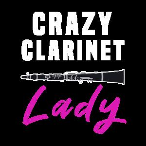 Verrückte Klarinettendame