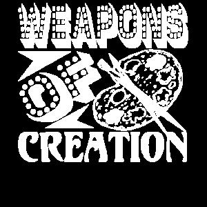 Künstler Künstler Waffen der Schöpfung