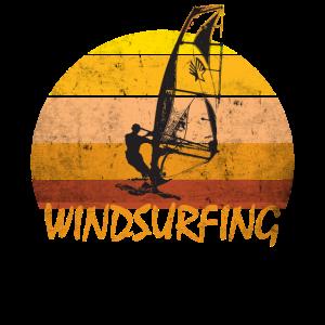 Windsurfing Windboarding vintage retro Shirt