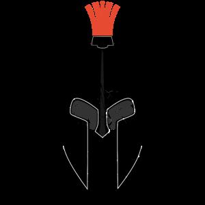 Helm Sparta grunge