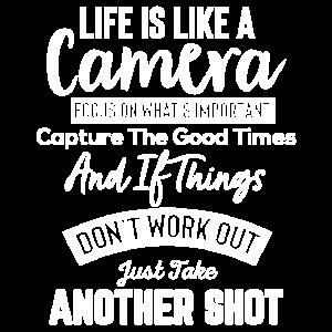 Leben wie Kamera