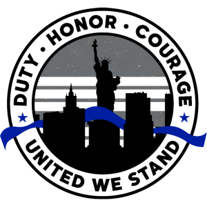 Back the Blue Police New York Liberty Lives Matter