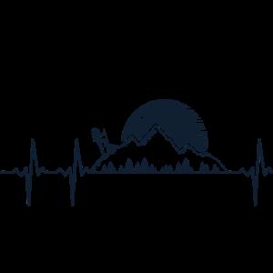 Wandern Berge Berg Wald Heartbeat Frequenz Puls 3s