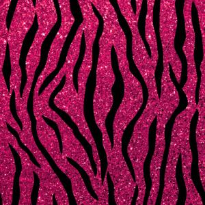 Tiger Glitter Pink