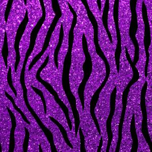 Tiger Glitter Lila