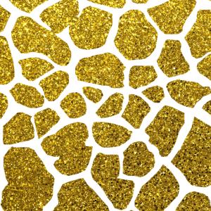 Giraffe Glitter Gold