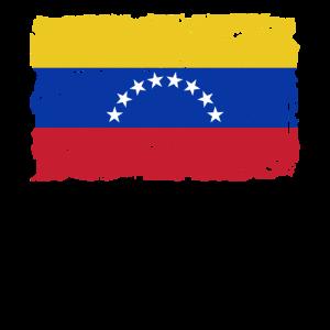 Venezuela Flagge - Flag of Venezuela - Shabby Look