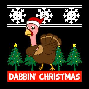 Dabbin Christmas Turkey Xmas Dab