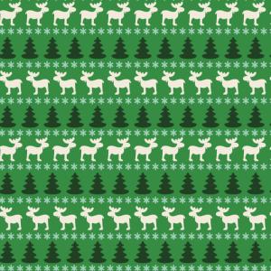 Rentier Muster Weihnachten