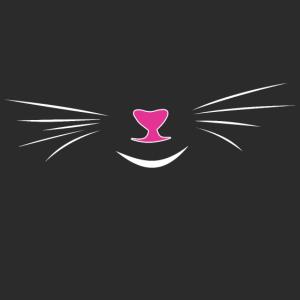 Maske Mundnasenschutz Gesichtsmaske Katze lustig