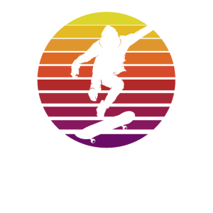 Skater Skateboarder Retro Skateboard Skating