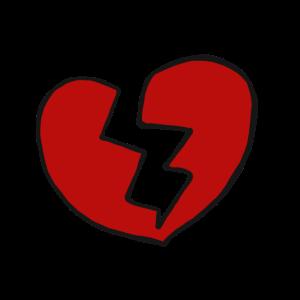 Trennung Gebrochenes Herz verletzt Liebe Geschenk