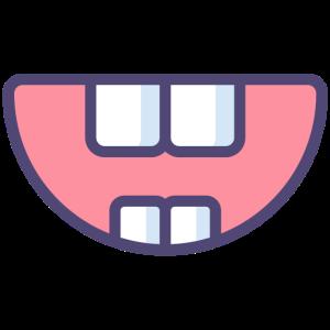 Mund Zähne Lachen Gesichtschutz Mundschutzmaske