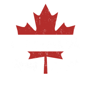 Canada pride Useh flag rocky mountains