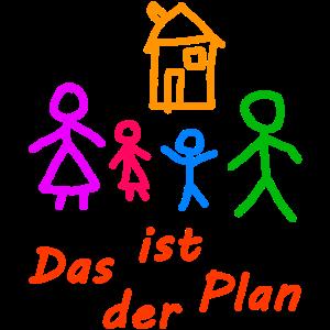 Das ist der Plan - Kinderzeichnung