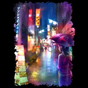 Tokio Gasse - modern Japan