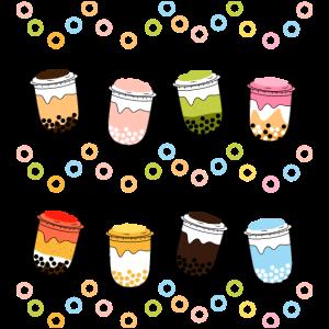 Süßer Bubble Tea