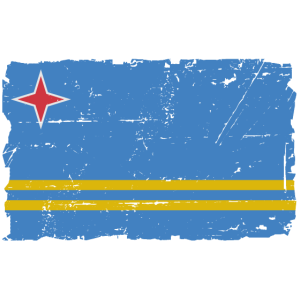 Anguilla Flagge - Flag of Anguilla - Shabby Look