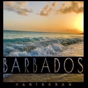 Barbados - Karibik, Wellen, Sonnenuntergang, Meer