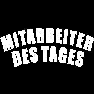 MITARBEITER DES TAGES GESCHENK BÜRO HUMOR KOLLEGE