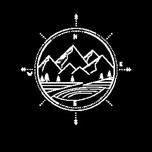 Berge Kompass