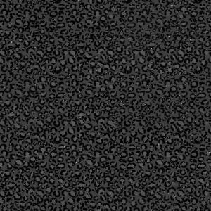 Schwarze Leopardenhaut