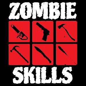 Zombie HorrorZombie Skills Undead Horror Halloween