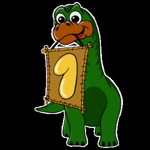 Geburtstag Dinosaurier ein Jahr