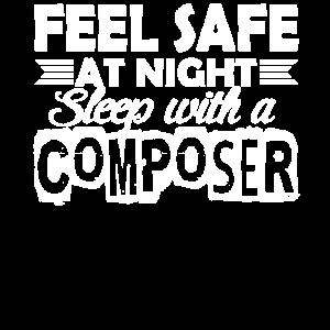 Komponist Schlaf mit Komponist