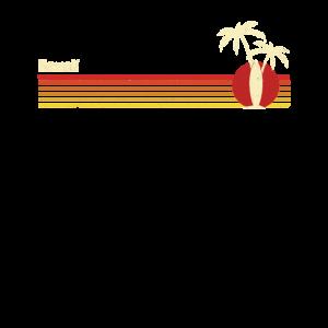 Retro Surfing Hawaii