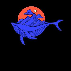 Blauwal Blauwale Wal Shirt