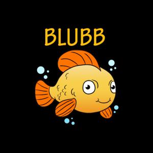 Blubb Maske Goldfisch