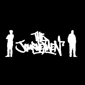 Die Reise Männer Silhouette (weiß)