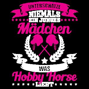 Lustiges Hobby Horse Mädchen Geschenk