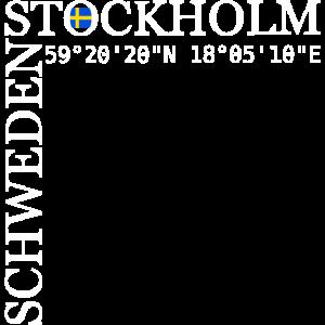 Stockholm Schweden Sweden Koordinaten