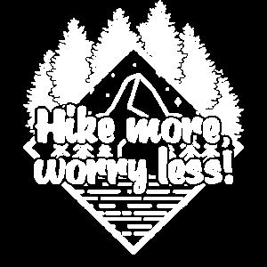 Wandern Berge Urlaub Bergsteiger Sprüche Trekking