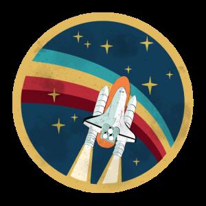 USA, Amerika: Space Shuttle fahren
