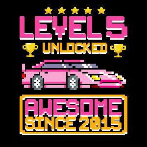 Level 5 Unlocked   Awesome 2015   Rennauto