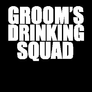Bräutigam Trinkkommando Party Groomsmen Bachelor